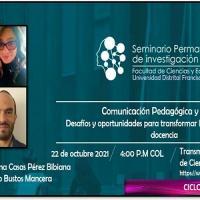 Imagen evento Te esperamos este 22 de octubre en el Seminario Permanente de Investigación